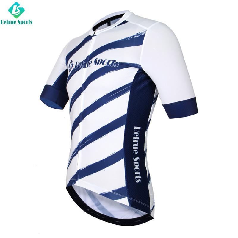 summer cycling fleece jersey Betrue Brand mens cycling jersey supplier