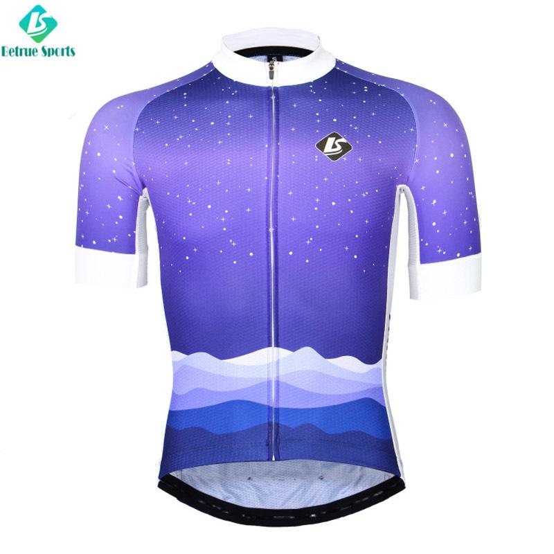 Snowy night Men Cycling Jersey BQ0001-1