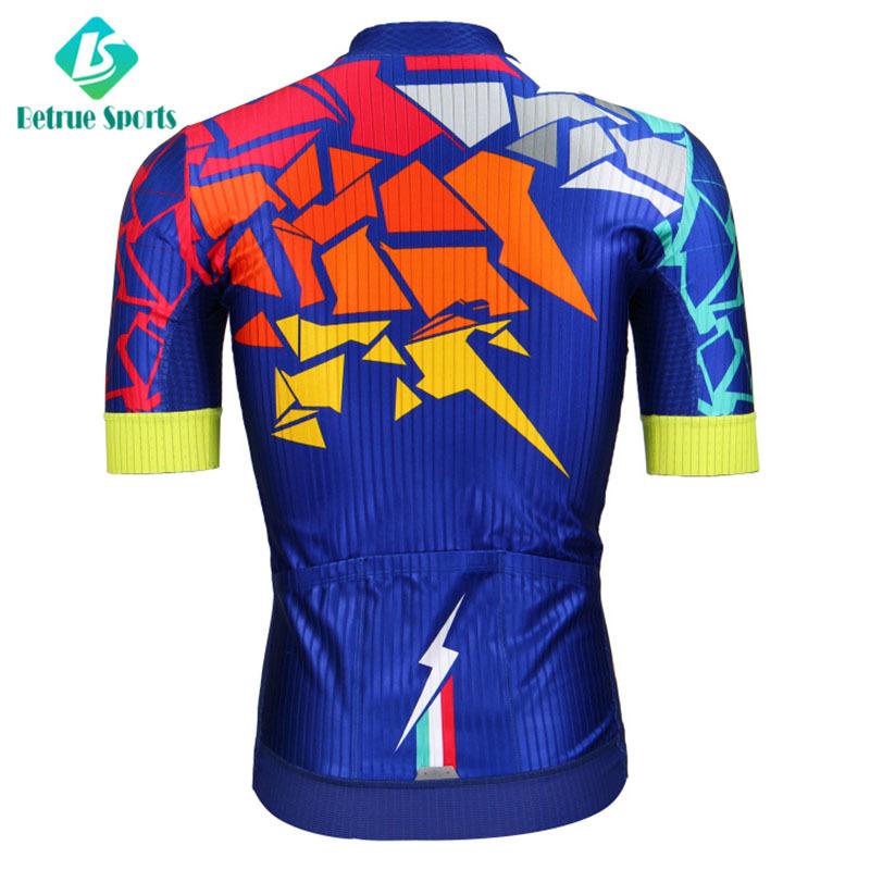 sleeve black end mens cycling jersey summer Betrue