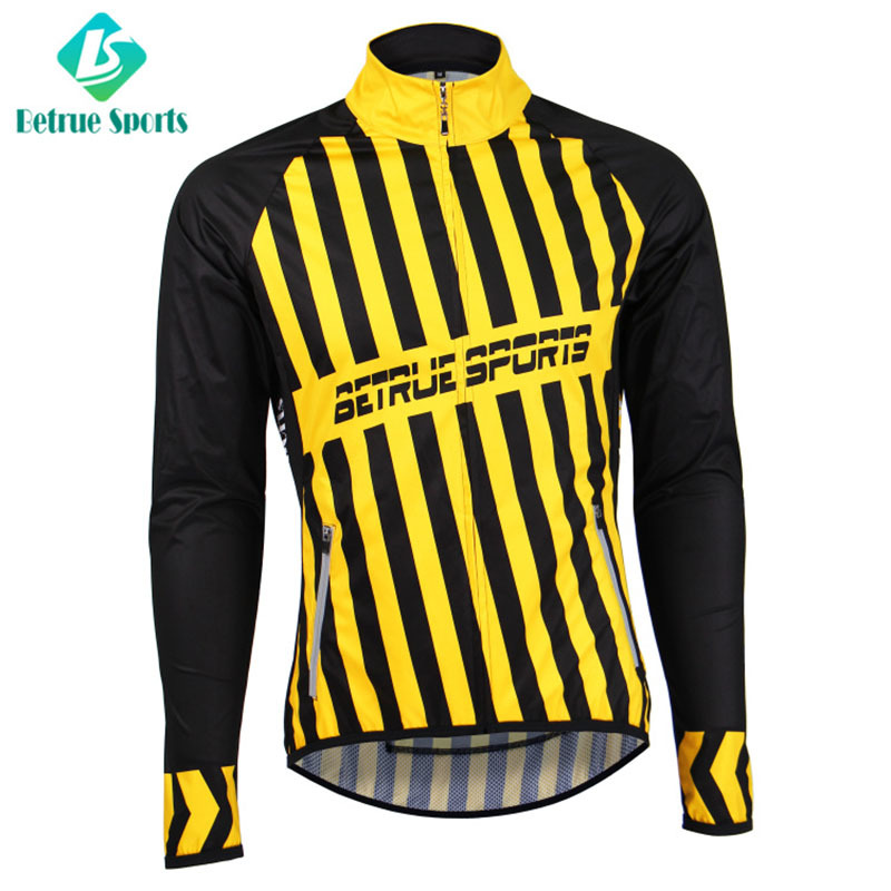 Men Cycling Waterproof long sleeve Jacket High End BQ0150-6