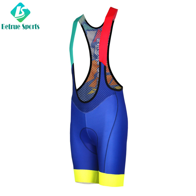 Italy-made fabric Bicycle Shorts Cycling Shorts For Pro Team Cyclist BQ0083