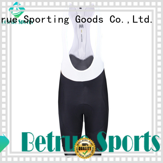 bib shorts fabric cycling fibre Betrue Brand company