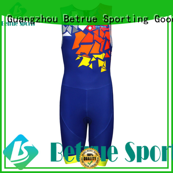 men triathlon race suit quality Betrue company